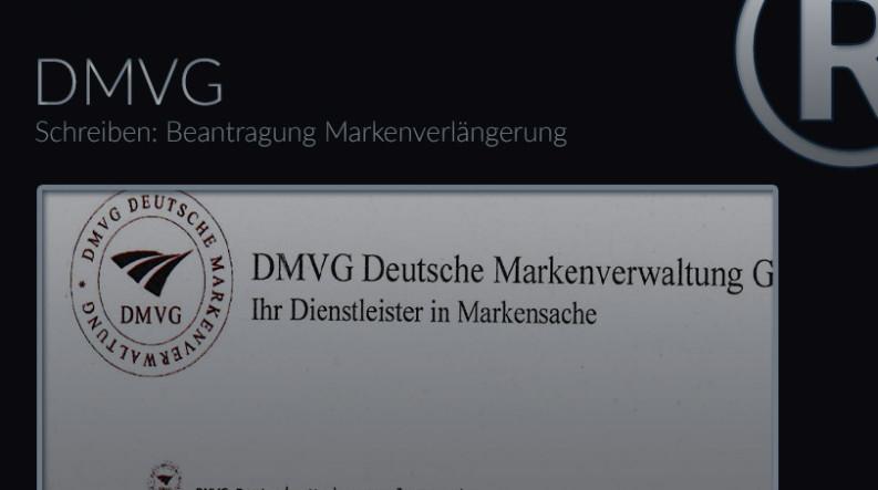 Schreiben der DMVG mit Angebot die Schutzdauer verlängern zu lassen