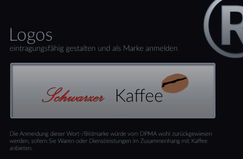 Markenrecht, Markenschutz von Logos als Wort-Bildmarke