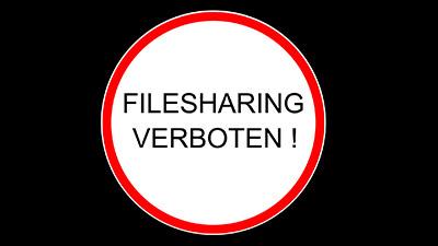Urheberrecht: Belehrung Filesharing verboten!